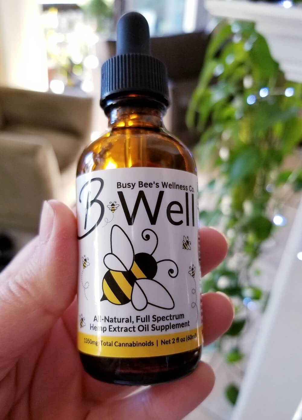 Busy Bee's CBD Oil helps me relieve stress and reduce anxiety