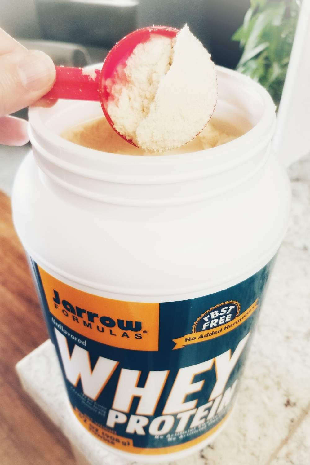 If you need extra protein in your Superfood Smoothie Recipe, consider an unsweetened and unflavored whey protein powder so you control the flavoring of your smoothie