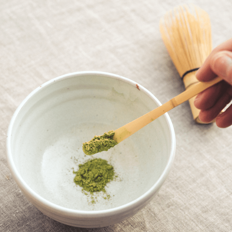 Matcha Green Tea Powder is full of antioxidants and helps boost your brain