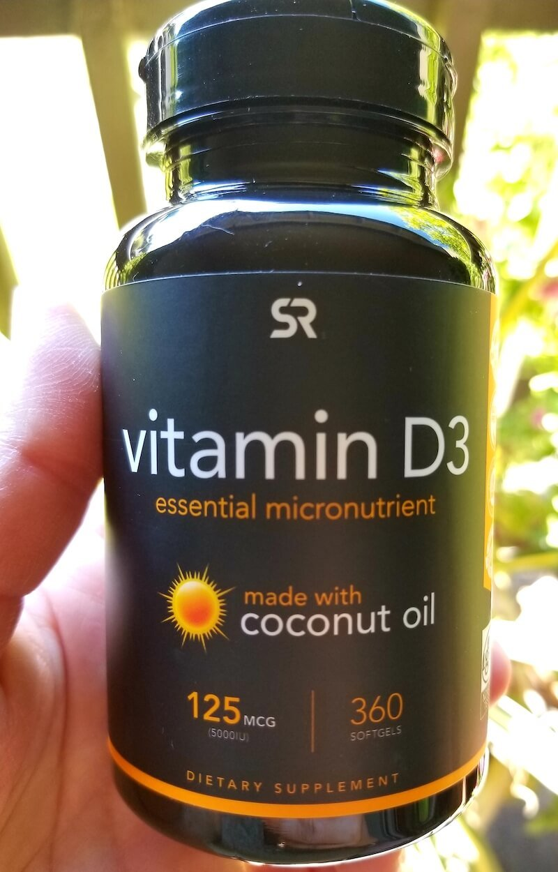 Vitamin D3 made with coconut oil gives you extra brain health benefits